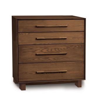 Picture of Copeland Furniture Sloane Walnut 4 Drawer Chest