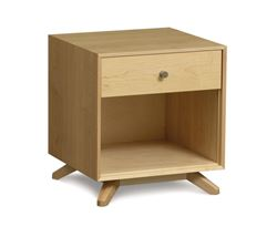 Picture of Copeland Furniture Astrid Nightstand in Maple With One Drawer