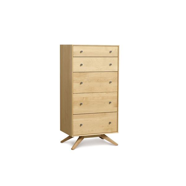 Picture of Copeland Furniture Astrid Maple Five Drawer Chest