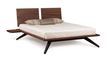 Picture of Copeland Furniture Astrid Bed 2-Panel Walnut