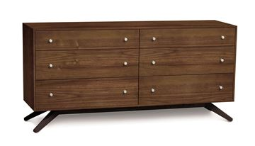 Picture of Copeland Furniture Astrid Dresser in Solid Walnut