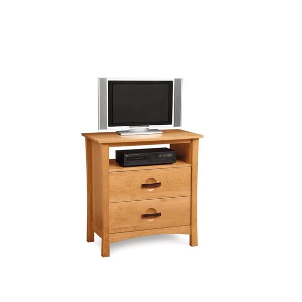 Picture of Copeland Furniture Berkeley Cherry Two Drawer Media Stand