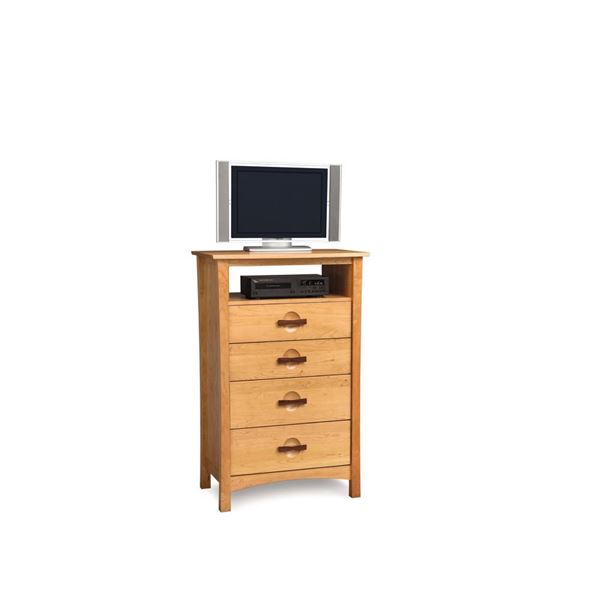 Picture of Copeland Furniture Berkeley Cherry Four Drawer Media Stand
