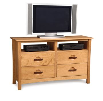 Picture of Copeland Furniture Berkeley Cherry Four Drawer Media Dresser