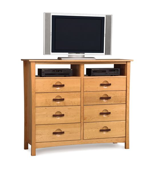 Picture of Copeland Furniture Berkeley Cherry Eight Drawer Media Dresser
