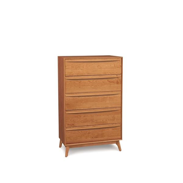 Picture of Copeland Furniture Catalina Cherry Chest 5 Drawer Wide