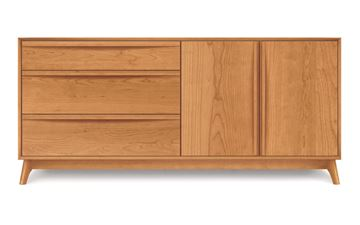 Picture of Copeland Furniture Catalina Cherry Dresser 3-Drawers Left