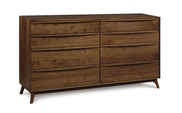 Picture of Copeland Furniture Catalina Walnut Dresser 8-Drawers