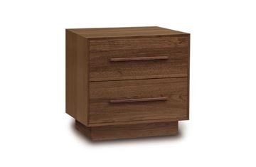 Picture of Copeland Furniture Moduluxe Nightstand With Two Drawers