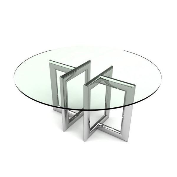 Picture of Bellini Modern Laina Round Dining Table