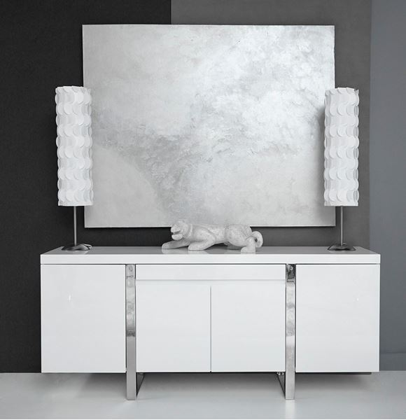 Picture of Bellini Modern Sierra Buffet in White Lacquer