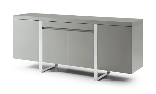 Picture of Bellini Modern Sierra Buffet in Grey Lacquer