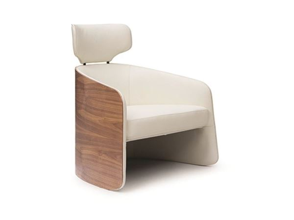 Picture of Bellini Modern Madison Accent Chair in White
