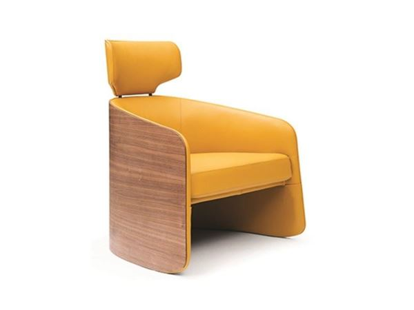 Picture of Bellini Modern Madison Accent Chair in Yellow