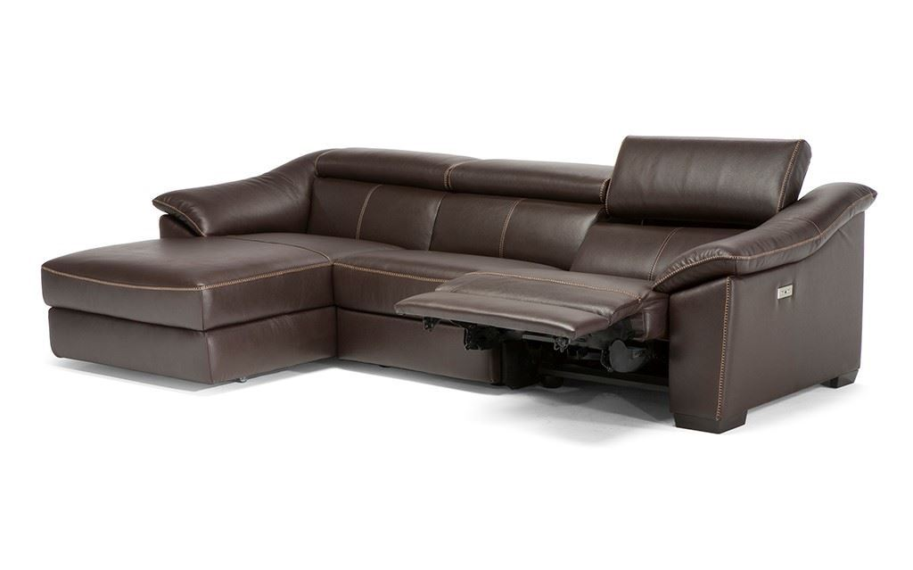 Fosters Furniture. Natuzzi Editions Emozione C072L Reclining Sofa Chaise