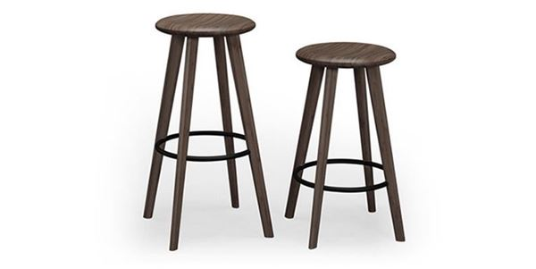 Picture of Greenington Mimosa Barstool Black Walnut Finish