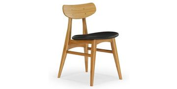 Picture of Greenington Cassia Side Chair With Leather Seat