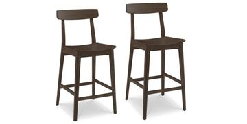Picture of Greenington Currant Barstool - Black Walnut Finish