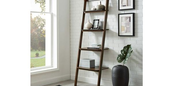 Picture of Greenington Currant Leaning Shelf in Walnut