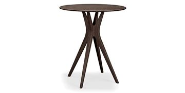 "Picture of Greenington Mimosa 40"" Bar Table in Walnut Finish"