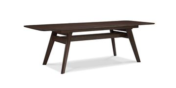 Picture of Greenington Currant Extension Dining Table in Black Walnut