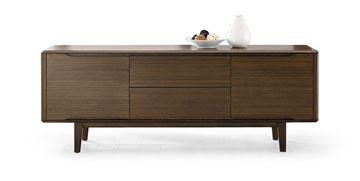 Picture of Greenington Currant Sideboard Media Cabinet Black Walnut