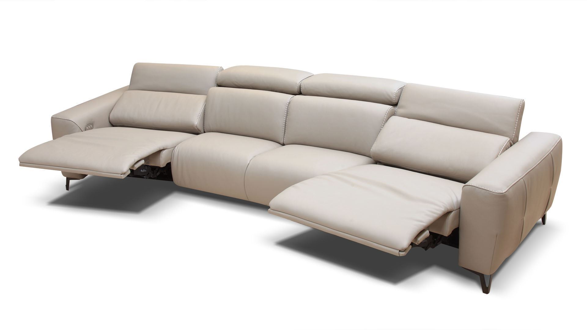 Bracci Zeus Curved Reclining Sectional 149
