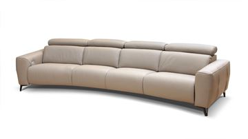 Picture of Bracci Zeus Curved Sectional 137""