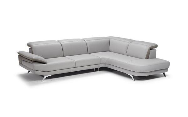 Picture of Natuzzi Editions Principe Sectional Right Bumper 106""