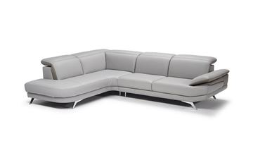 Picture of Natuzzi Editions Principe Sectional Left Bumper 106""