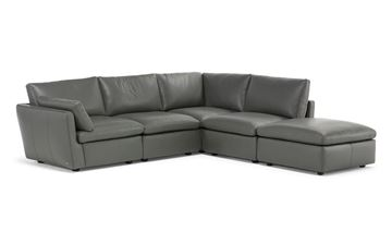 Picture of Natuzzi Editions Leggerezza Sectional Flex Ottoman Right