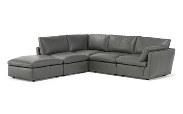 Picture of Natuzzi Editions Leggerezza Sectional Flex Ottoman Left
