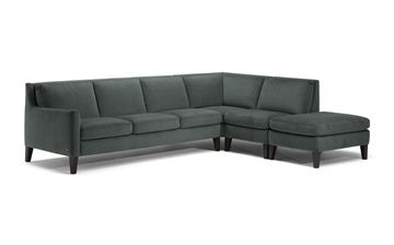 Picture of Natuzzi Editions Quiete C009 Sectional Right Flex Ottoman