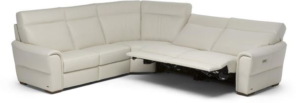 Picture of Natuzzi Editions Energia Sectional 107x107 Right Recliners
