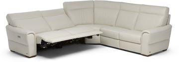 Picture of Natuzzi Editions Energia Sectional 107x107 Left Recliners