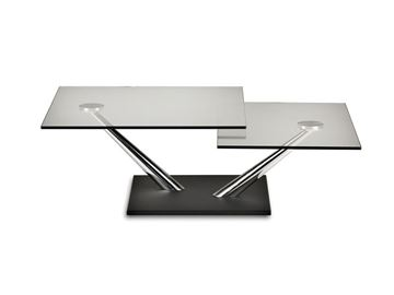 Picture of Naos Cassius Coffee Table + Antracite Base