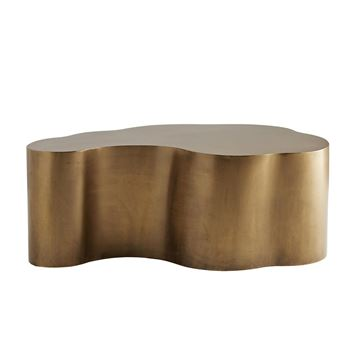 Picture of ARTERIORS Meadow Coffee Table Antique Brass