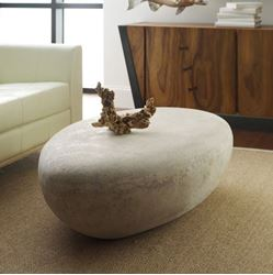 Picture of Phillips Collection River Stone Roman Large Coffee Table
