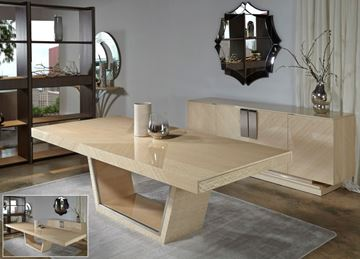 "Picture of Planum Aria 71"" Expandable Dining Table"