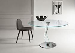 "Picture of Tonelli Design Bakkarat Dining Table 43"" Round"