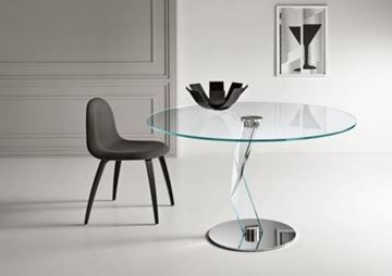 "Picture of Tonelli Design Bakkarat Dining Table 51"" Round"