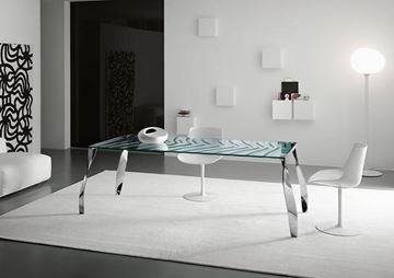 Picture of Tonelli Design Luz De Luna Dining Table