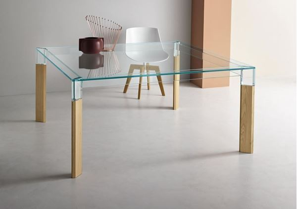 Picture of Tonelli Design Perseo Square Dining Table
