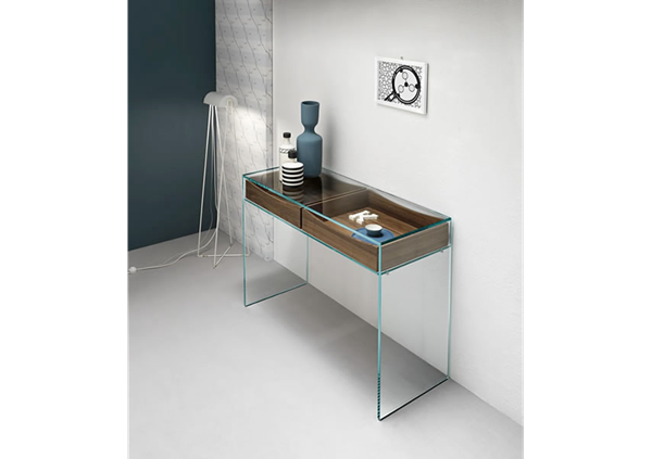 Picture of Tonelli Design Gulliver Console Table + Walnut Drawers