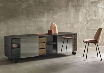 Picture of Tonelli Design Shoji Madia Sideboard W Finish