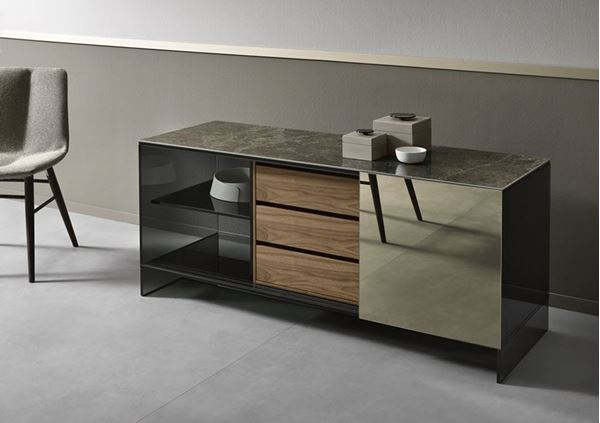 Picture of Tonelli Design Shoji Madia Sideboard W Finish Small Size