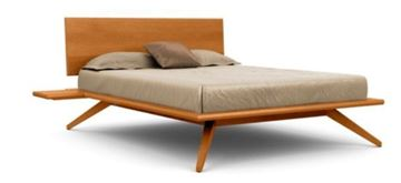 Picture of Copeland Furniture Astrid Bed in Solid Natural Cherry