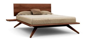 Picture of Copeland Furniture Astrid Bed Cognac Cherry