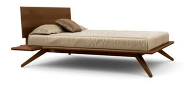 Picture of Copeland Furniture Astrid Bed Saddle Cherry
