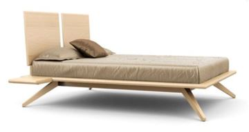 Picture of Copeland Furniture Astrid Bed 2-Panel Natural Maple